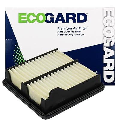 ECOGARD XA6052 Premium Engine Air Filter Fits Honda Fit 1.5L 2009-2014: Automotive