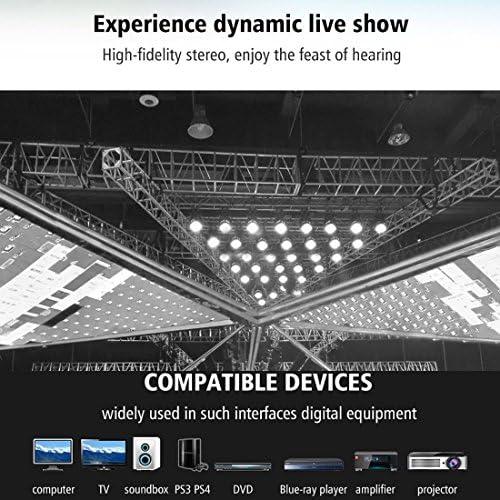 DIYオーディオおよびビデオケーブル用オーディオアダプターオーディオケーブル、小型、軽量、持ち運びが 30メートルOD6.0mmニッケルメッキメタルヘッドトスリンク男のデジタル光オーディオケーブルへの男性、小型、軽量で持ち運びが簡単