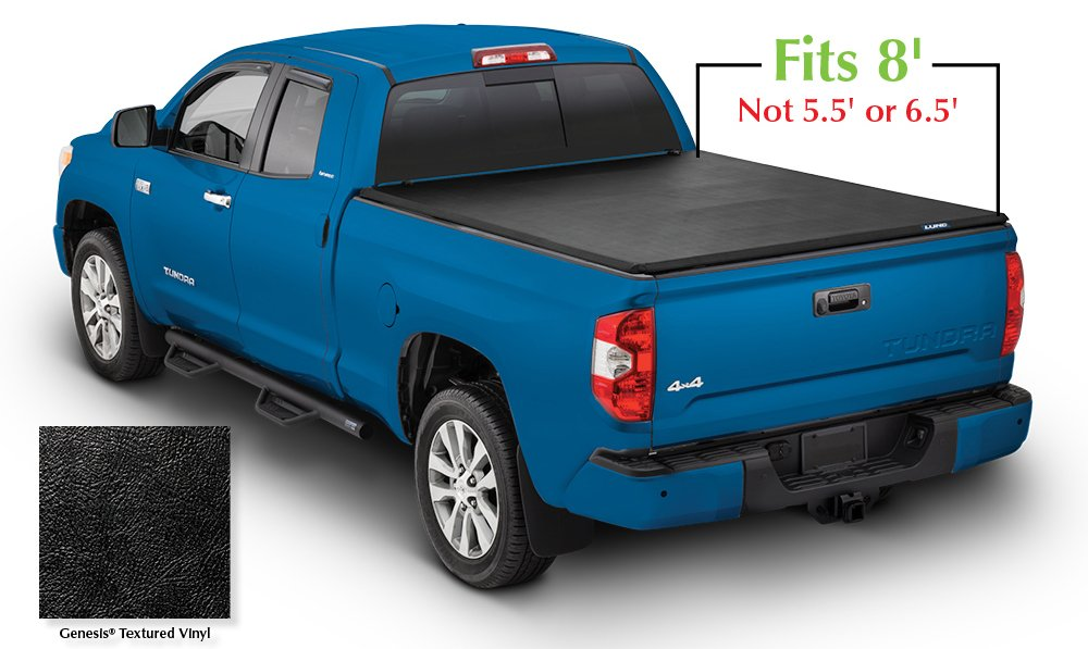 Fits 8 Bed Lund 950122 Genesis Tri-Fold Truck Bed Tonneau Cover for 2007-2018 Toyota Tundra
