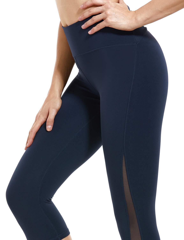 CRZ YOGA Women's Hugged Feeling High Waist Yoga Pants Training Leggings With Pocket