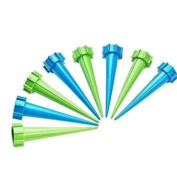 8 piezas de control automático por goteo riego planta picos picos de riego regadera botella sistema