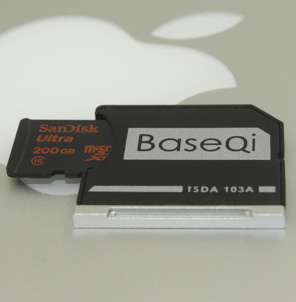 Carte Cdiscount Apple Pay.Amazon Com Baseqi Aluminum Microsd Adapter For Macbook Air 13 And
