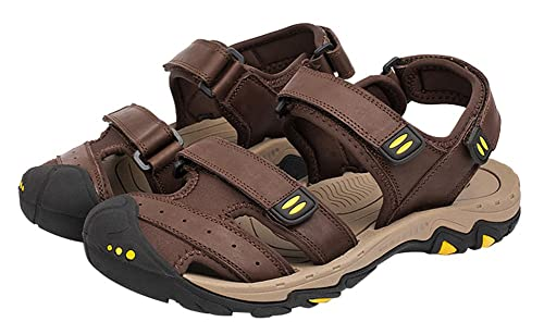15dce6dd21e9 Wentsven Women s Sandals Closed Toe Hiking Beach Sandles  Amazon.co ...