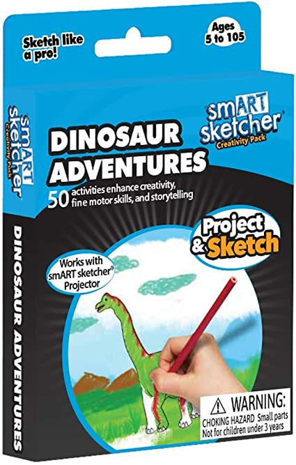 smART Sketcher - SD Pack - Dinosaur Adventures