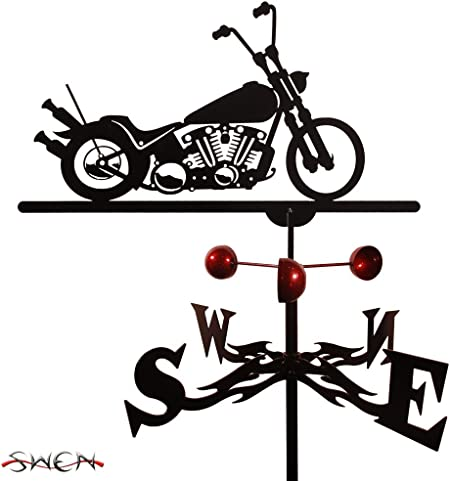 SWEN Products Farrell Series BOBBER MOTORCYCLE Steel Weathervane