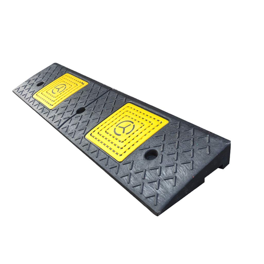 11 way bike CSQ Ramps Road Ramps, Rubber Vehicle Service Ramps Multiple Heights Wheelchair Ramps Factory Parking Lot Loading Ramps Kerb Ramps (Size : 48 * 15 * 3cm)