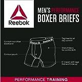 Reebok Mens 3 Pack Performance Boxer Briefs