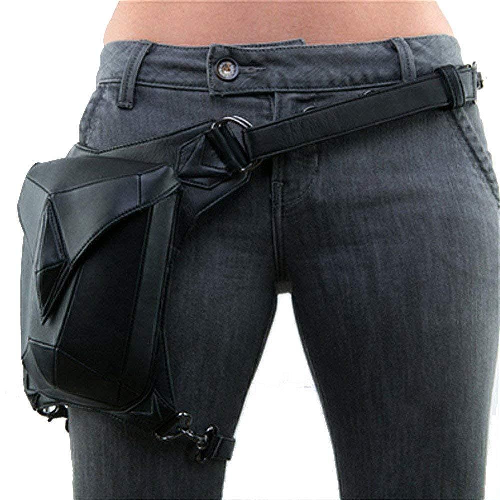 Zxcvlina Retro Steampunk VTG Multi-Functional Leg Waist Bag Pack Hip Belt Fanny Messenger Bag Multifunction Waist Bag Belt Bag for Women Gift