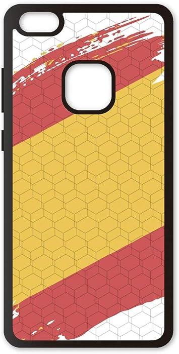 PHONECASES3D Funda móvil Compatible con Huawei P10 Lite España Bandera. Carcasa de TPU de Alta protección. Funda Antideslizante, Anti choques y caídas.: Amazon.es: Electrónica