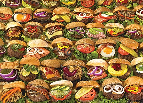 COBBLE HILL Burgers Puzzle (1000 Piece)