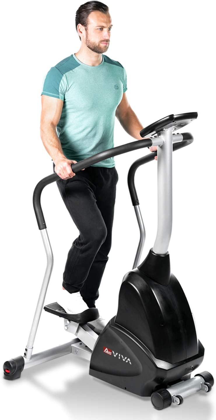 AsVIVA ST4 Profi Stepper Ergometer Cardio in Studioqualität - Swing Stepper
