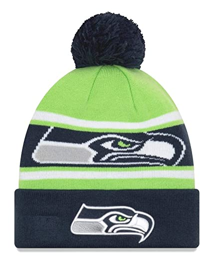 9807f6ff0fcc78 Amazon.com : New Era Seattle Seahawks Youth NFL Junior Callout ...