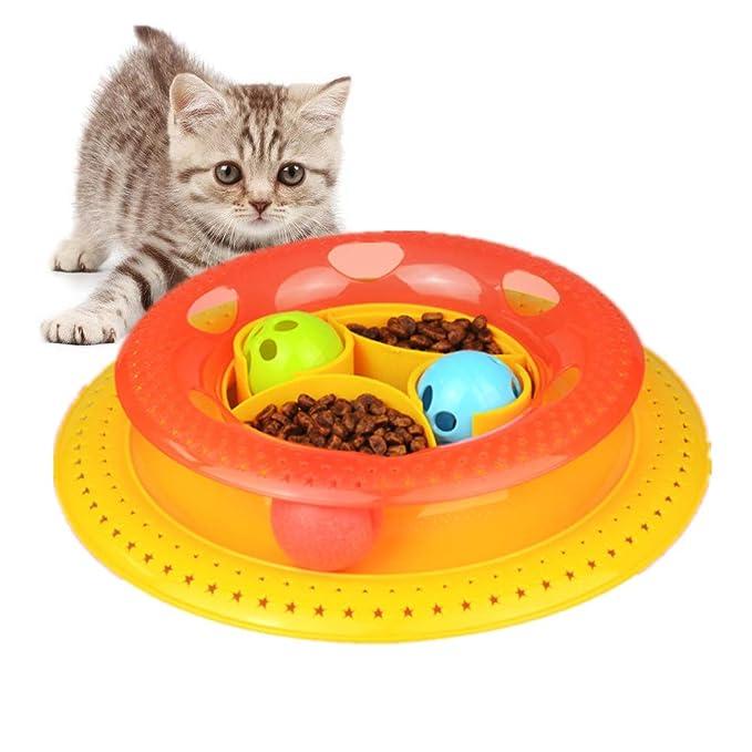 Juguete Para Gato Torre De Las Pistas Interactive,Atractivo ...