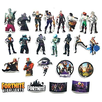 Tuotoo Fortnite Sticker 100 PCS No Repetition,Vinyl Waterproof Fashion Laptop Stickers, Car Luggage