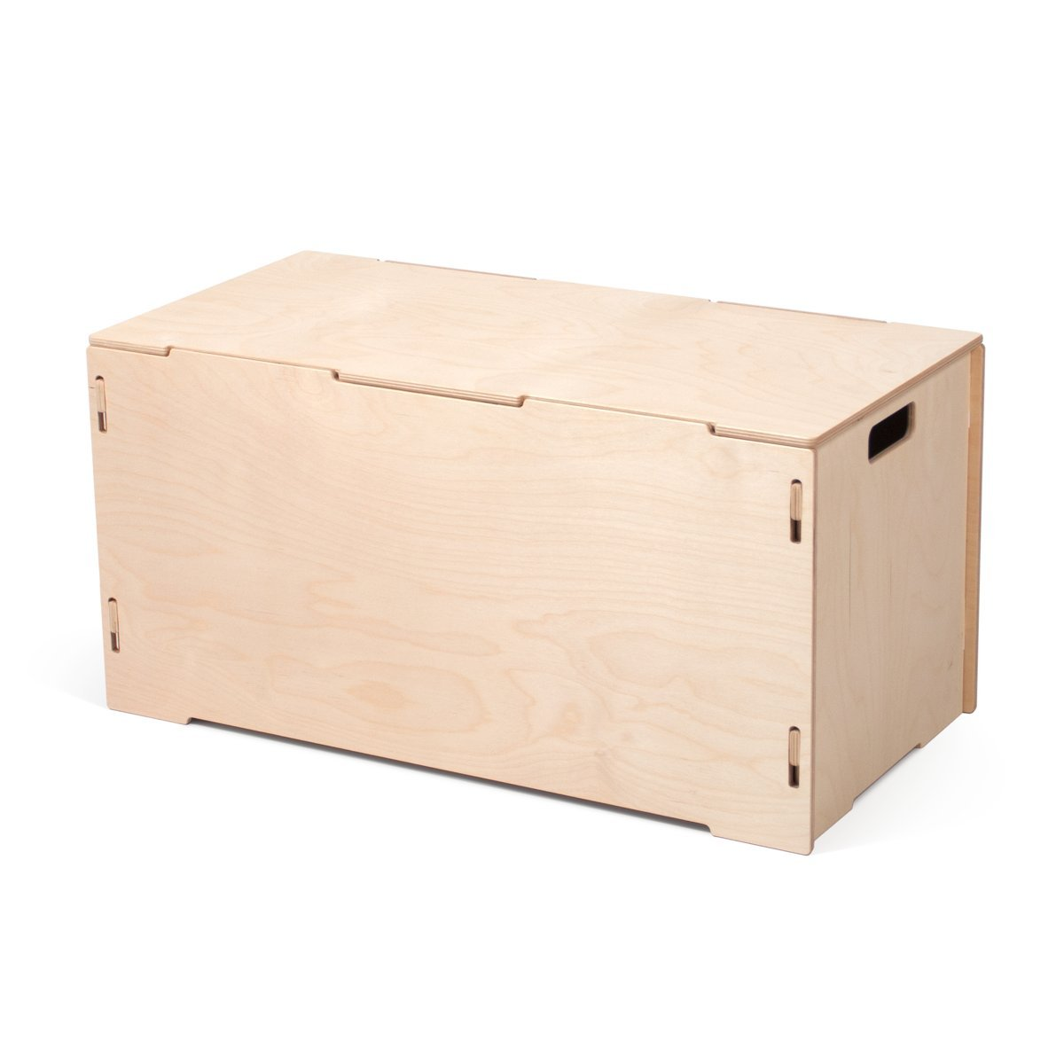 Stacking Crates Wooden Storage Tote Set (One Tote, One Lid) CR_TT1-RAW B01MZC0ZPK Wooden Storage Tote Set (One Tote, One Lid) Raw Baltic Birch Raw Baltic Birch Wooden Storage Tote Set (One Tote, One Lid)