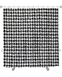 Gear New''Tweed Fabric Shower Curtain 74'' x 71''