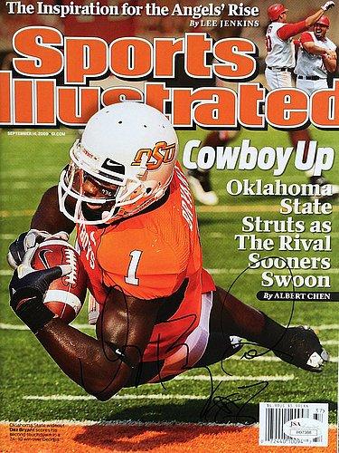 Dez Bryant Signed ( September 14 2009 ) Sports Illustrated Si Magazine JSA