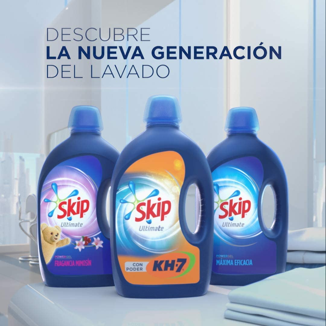 Skip - Ultimate Triple Poder Fragancia Mimosín - Detergente ...