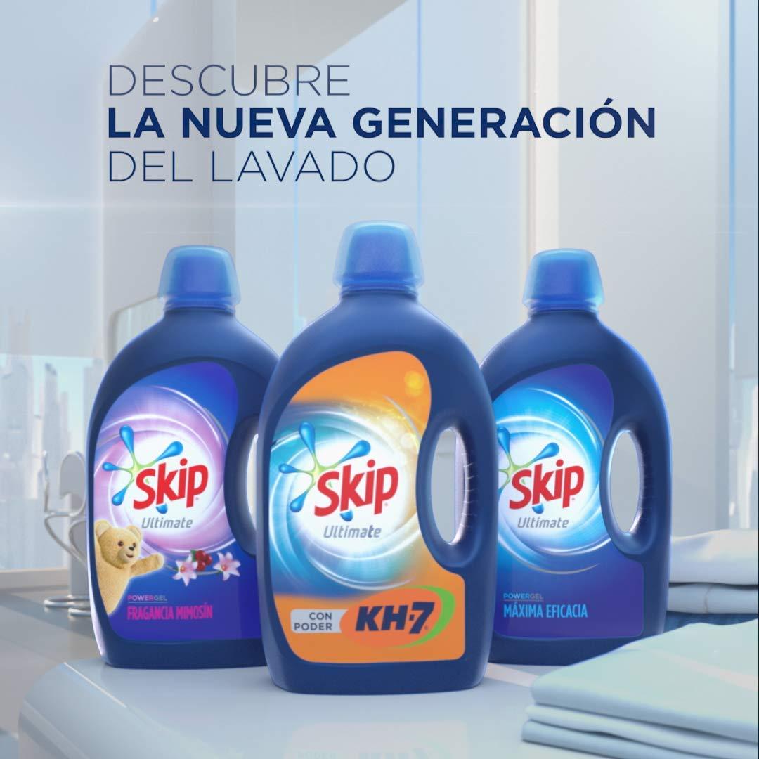 Skip - Ultimate Triple Poder Cuidado del Color Detergente Líquido ...