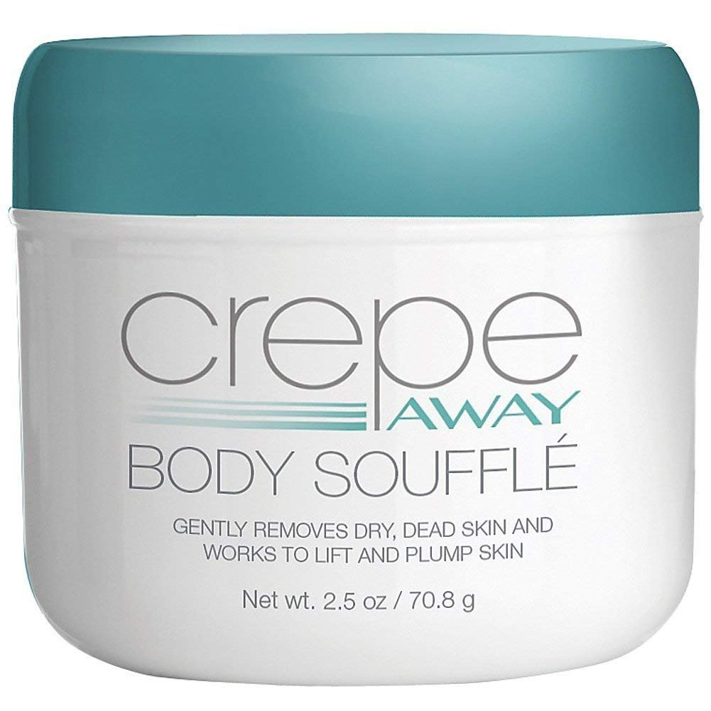 #7 - Crepe Away Cream Body Souffle Helps Smooth, Plump, And Firm Dry, Aging Skin