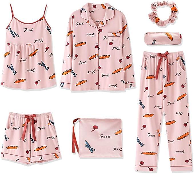 Womens Masq Loungewear Cotton Flamingo Pink Short Pyjamas