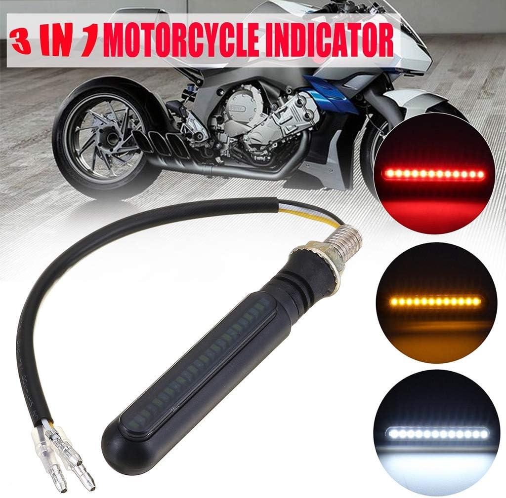 DEL INDICATORS TURN SIGNALS Motocycle Moto Quad-noir Micro Mini
