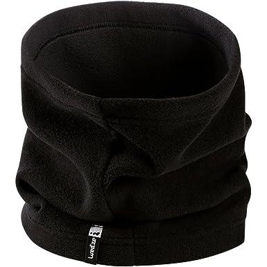 QUECHUA - Ensemble bonnet, écharpe et gants - Homme Noir noir Adulte ... 576e3fe37e1