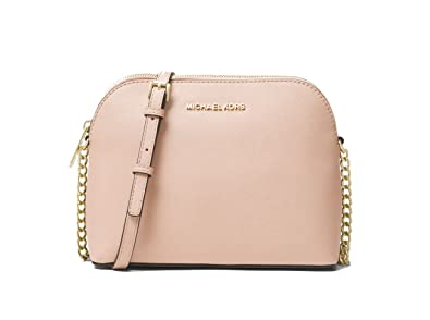 1b4b099f11fe6a Michael Kors Cindy Large Dome Crossbody, Butternut: Handbags: Amazon.com