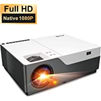"Beamer Full HD - Artlii Business Beamer 1080P Native mit 300"", LED Videoprojektor 55000 Stunden für Powerpoint Präsentation und Heimkino Kompatibel mit Laptop, USB-Stick, Android Smartphone, iPhone"