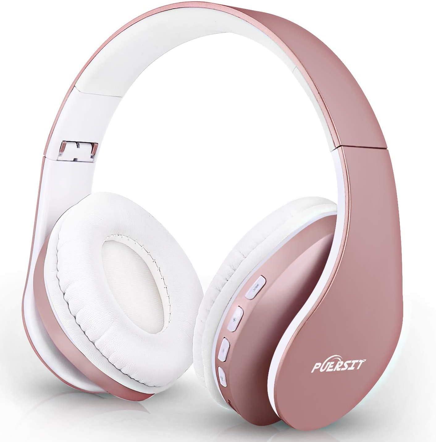 Bluetooth Kopfhörer Kabellos Over Ear Puersit Faltbar Elektronik
