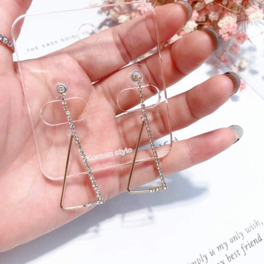 XUEQQ Simple Casual Metal Costura de Agua Taladro EDD erstyd a da la Accesorios Accesorios Accesorios