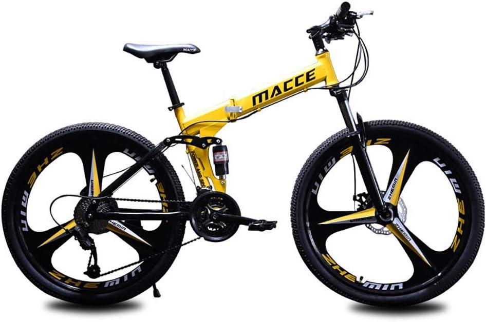 Bicicleta de montaña unisex de 26 pulgadas con dos muelles, de ...