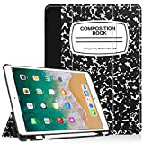 Fintie Case with Built-in Apple Pencil Holder for iPad Air 10.5' (3rd Gen) 2019 / iPad Pro 10.5' 2017 - [SlimShell] Ultra Lightweight Standing Protective Cover with Auto Wake/Sleep, Composition Book