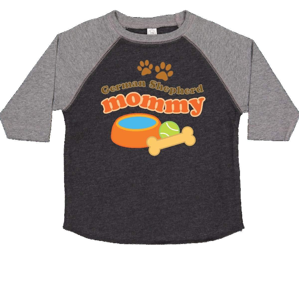 inktastic German Shepherd Mommy Toddler T-Shirt