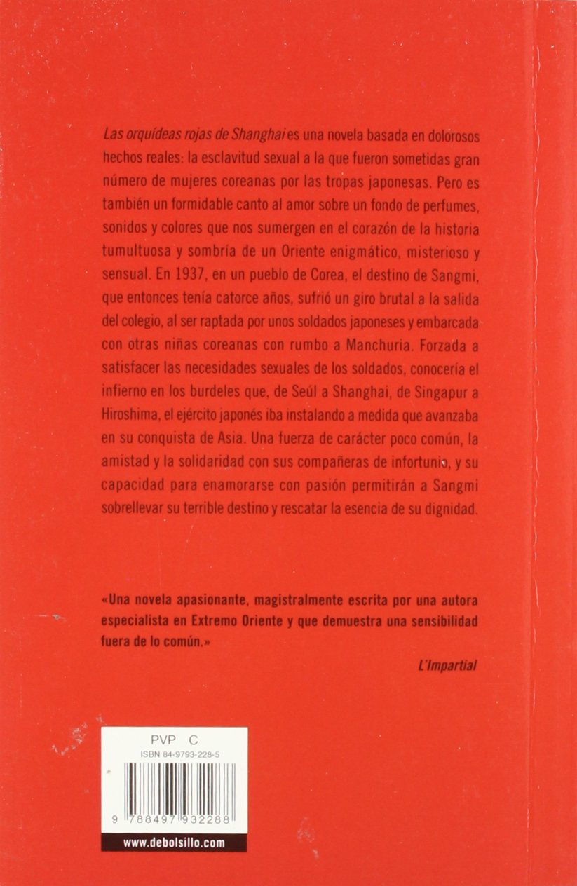 568: Las Orquideas Rojas de Shanghai / The Red Orchids of Shanghai (Best Seller) (Spanish Edition)