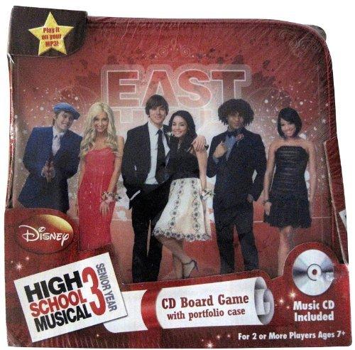 High School Musical 3 CD Board Game (In Portfolio) (High School Musical 2 Dvd Game)