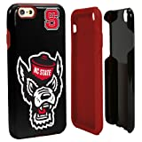 Guard Dog NCAA North Carolina State Wolfpack Hybrid iPhone 6 Case, Black, One Size