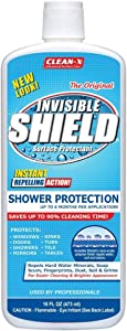 Coastal Shower Doors IS-16 Paragon Invisible Shield Glass Surface Protectant | Prevent Hard Water Spots