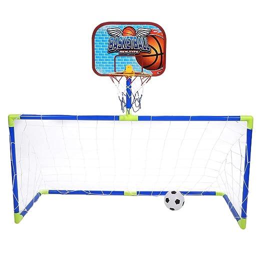 VGBEY Juego de Juguetes de Baloncesto de fútbol, Juego de ...