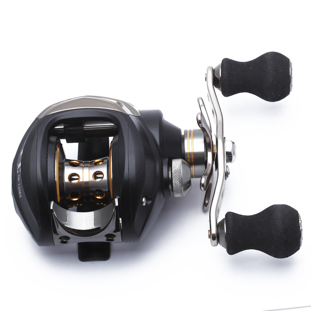 11 1 BB Baitcasting Fishing Reel Ball Bearing Low Profile Baitcaster Right Hand