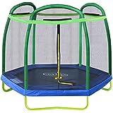 Amazon Com Little Tikes 7 Climb N Slide Trampoline