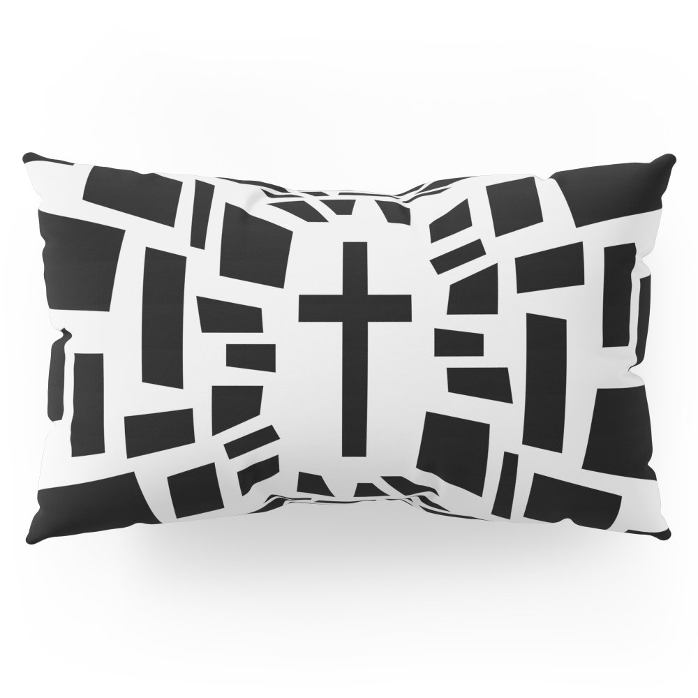 Society6 Christian Cross Pillow Sham King (20'' x 36'') Set of 2