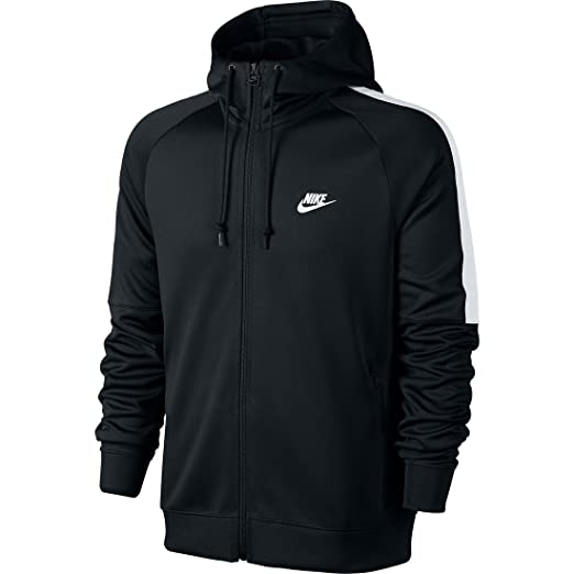 6878b40fe7a2 Amazon.com  Nike Tribute Hooded Track Jacket Men s Hoodie Jacket ...
