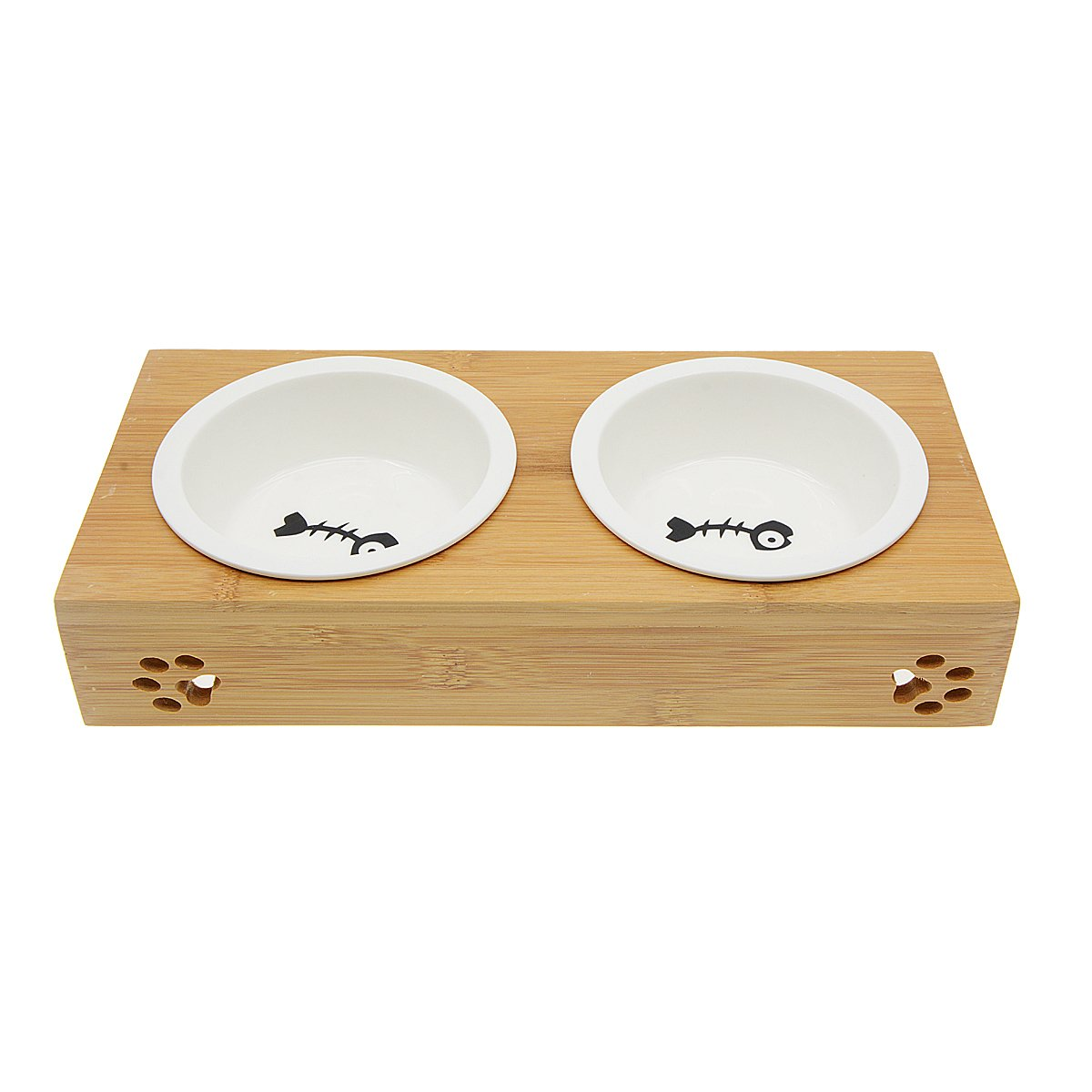 Saim Small Dogs and Cats Bowls Elevated Pet Feeder by Saim (Image #5)