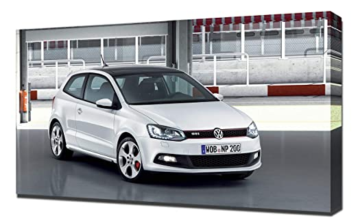 2010-Volkswagen-Polo-GTI-V1-1080 - Lienzo Decorativo para Pared ...