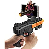 Autocastle Kids AR Game Gun Toy,AR Argumented Reality IOS Game controller,AR Toy Video Game System with 360 Degree AR Games for Iphone&Android,Best Xmas Halloween Birthday Gift Ideas