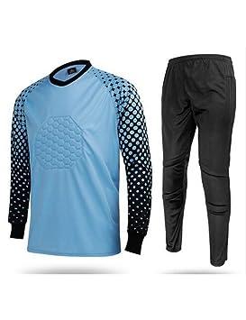 LBLZG Men Soccer Kits De Portero Completo Portero Traje De Portero ...