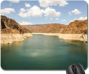 Mouse Pad - Dam Hoover Dam Reservoir USA America Nevada Lake