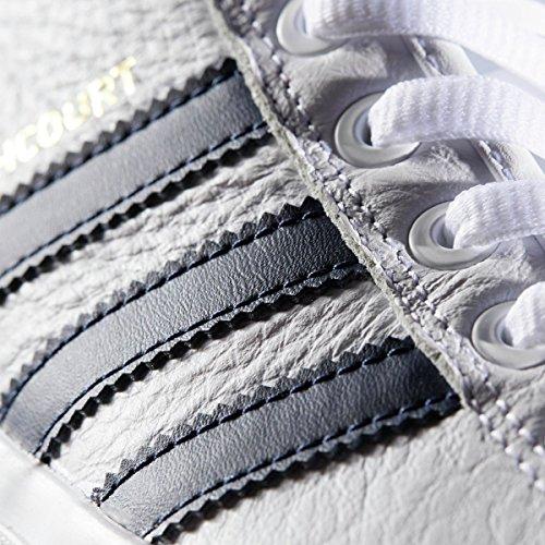"""adidas Skateboarding Herren Matchcourt High RX2 """"Top Ten Schuhe Weiß / Collegiate Navy / Scarlet"""