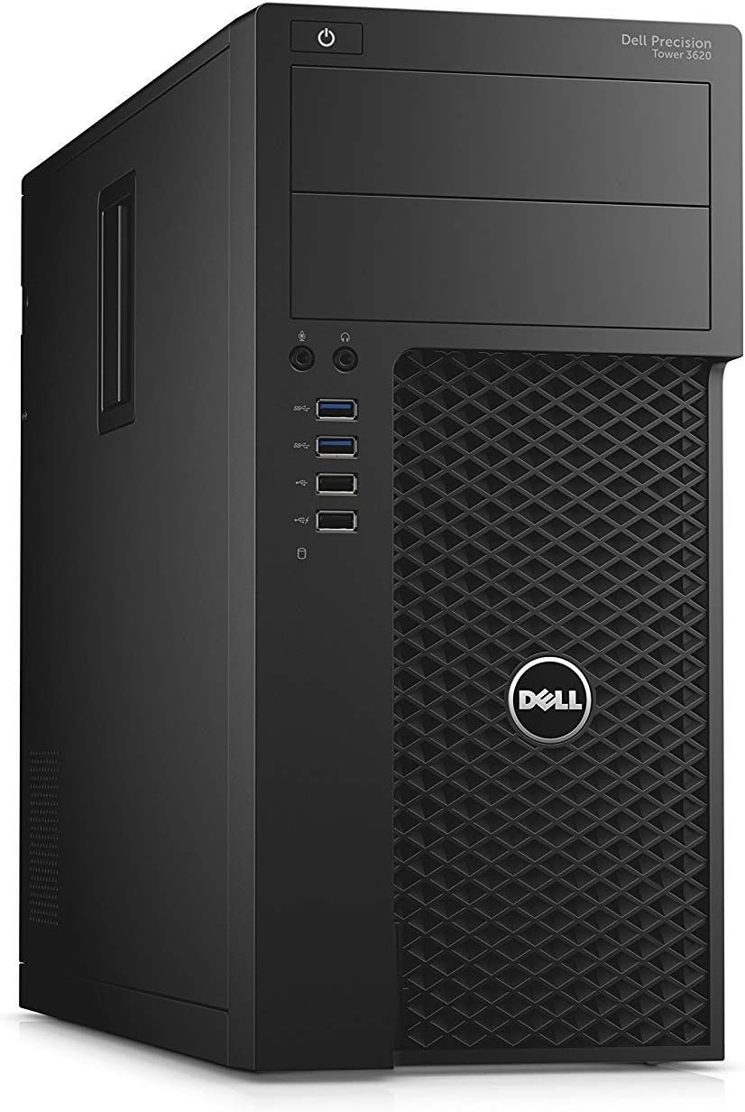Dell Precision 3620 Desktop Workstation with Intel i7-6700 Quad Core 3.4 GHz, 8GB RAM, 1TB HDD (CPM6N) (Renewed)